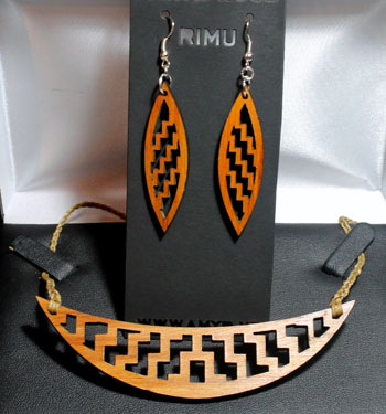 Native Wood (Recycled) Poutama halfmoon cutout set